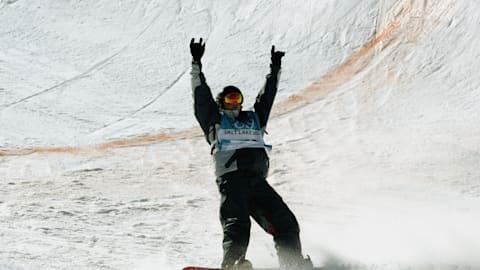 Kelly Clark wins halfpipe gold in Salt Lake City