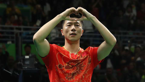 Ma prend l'or pour la Chine en tennis de table