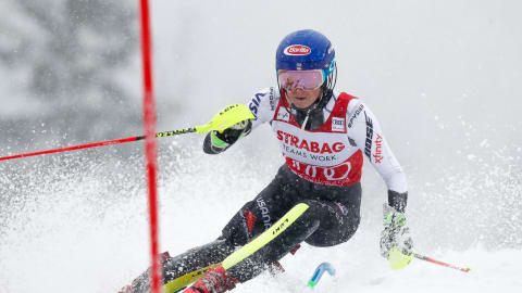 Slalom queen Mikaela Shiffrin breaks FIS Ski World Cup record