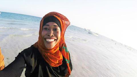 أولمبية تتحدّى حظر الرياضة النسوية في الصومال