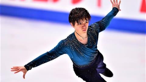 世界フィギュアスケート国別対抗戦、男子フリーで宇野昌麿は3位...日本は2位をキープ