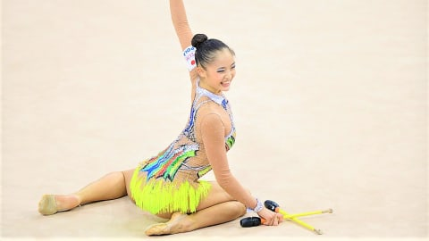 新体操W杯タシケント大会、個人総合で喜田が10位、皆川 は11位