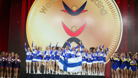 How Finland became a cheerleading powerhouse