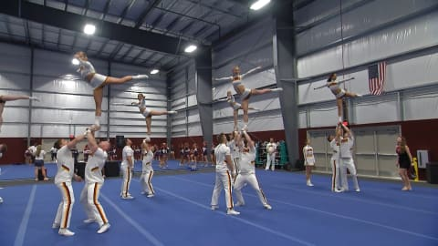 Cheerleading breaks down stereotypes!
