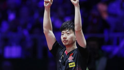 Ma Long completes hat-trick of world singles titles as China complete clean sweep
