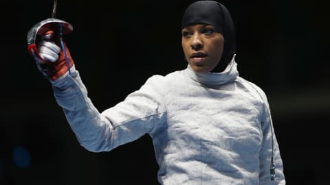 Olympic pioneer Ibtihaj Muhammad to hang up sabre