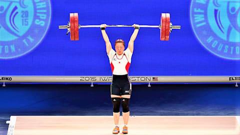重量挙げ全日本選手権2日目:女子59キロ級の安藤美希子が6大会連続優勝