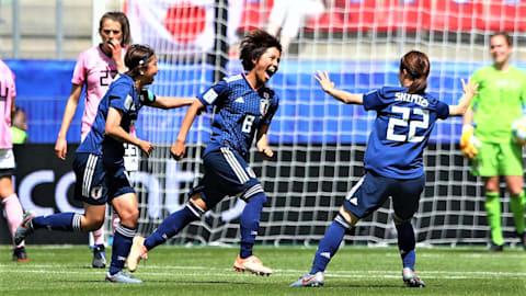 FIFA女子W杯2019フランス大会グループステージ第2戦:なでしこジャパンはスコットランドに辛勝で大会初勝利