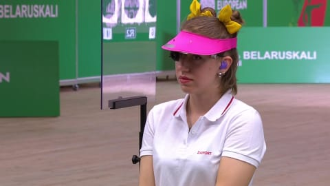 Damen 25m Pistole Finale | Schießen - Europaspiele - Minsk