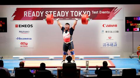 東京2020組織委員会初主催のテストイベント「READY STEADY TOKYOーウエイトリフティング」を開催 練習会場なども公開