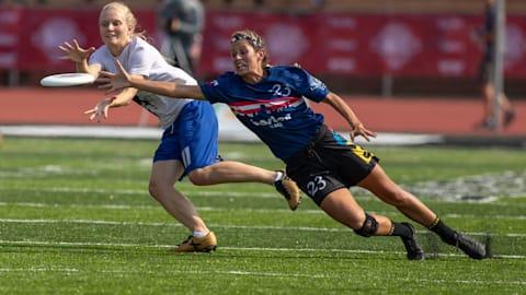 Финал, женщины | WFDF чемпионат мира U-24 по алтимату - Гейдельберг