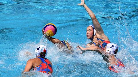 Women's SF 2 - ESP v HUN   Water Polo - FINA World Championships - Gwangju