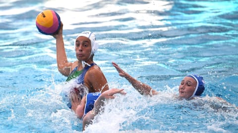 Women's 9/10 - CAN v KAZ   Water Polo - FINA World Championships - Gwangju