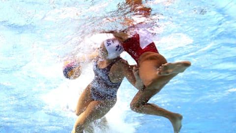 Women's 5-8 B - NED v ITA   Water Polo - FINA World Championships - Gwangju