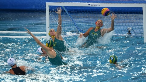 Women's 11/12 - CHN v NZL   Water Polo - FINA World Championships - Gwangju