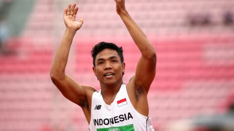 Lalu Zohri of Indonesia blasting his way from humble beginnings to Olympic contention