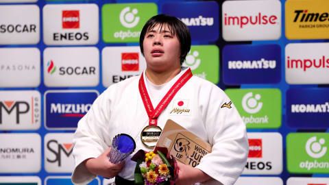 Akira Sone and Lukas Krpalek claim judo heavyweight world titles