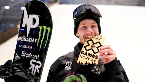 Max Parrot cancer-free and back on top in X Games