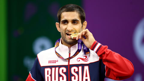Stepan Maryanyan: From reluctant wrestler to champion