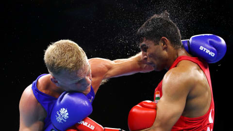 Indian quartet reach quarters at World Boxing Championships