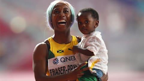 World 100m joy again for Shelly-Ann Fraser-Pryce