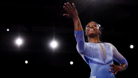Simone Biles seeks medal record in Tuesday's team final