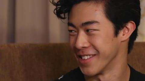 EXCLUSIVO: Nathan Chen, campeão do Skate America, fala com Meryl Davis