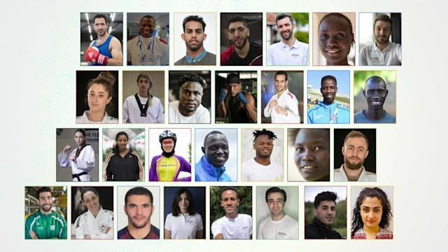 Conoce a los miembros del Equipo Olímpico de Refugiados del COI