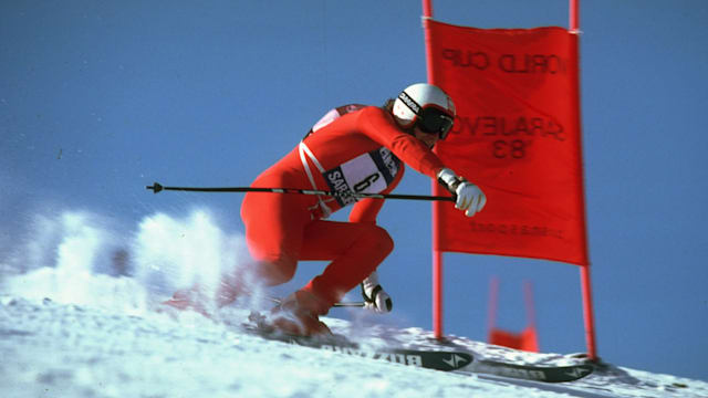 The mind of a downhill skier - Franz Klammer