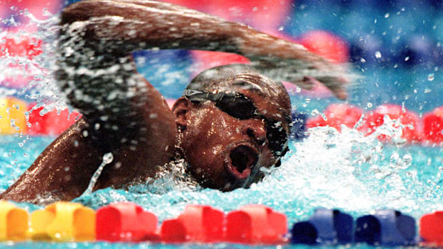 'Eric the Eel' and his first encounter with international swimming