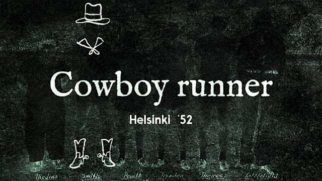 Helsinki 1952 -  The fastest cowboy stuntman to ever compete in the Olympics
