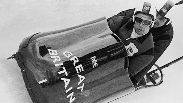 Tony Nash - British Bobsleigh Bulldog