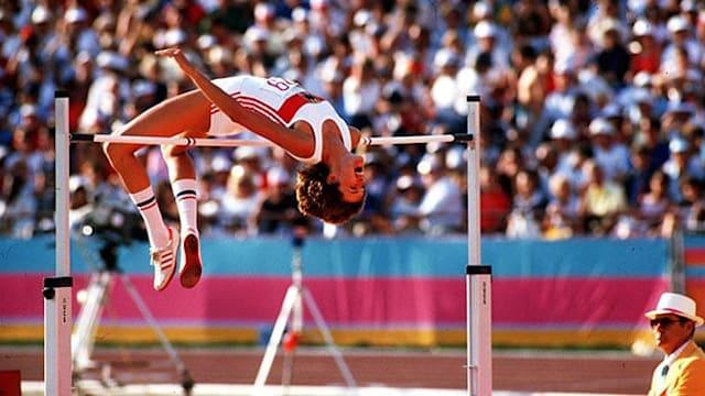"""High-jumper Ulrike Meyfarth: """"It felt like a movie"""""""