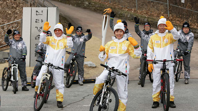 Olympic Torch Relay continues its northern tour