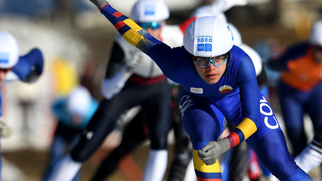 Diego Amaya: I'm capable of being the first Colombian Winter Games medallist