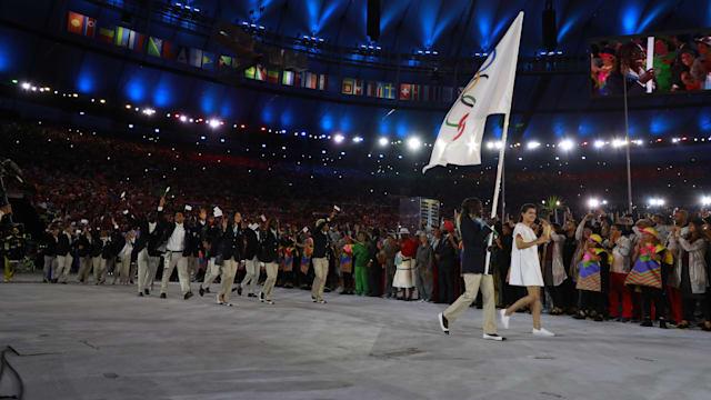 东京2020难民奥林匹克代表队宣布仪式 - 洛桑
