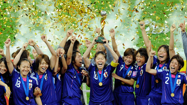Japanese footballers look to inspire a nation once again by kicking off Olympic Torch Relay