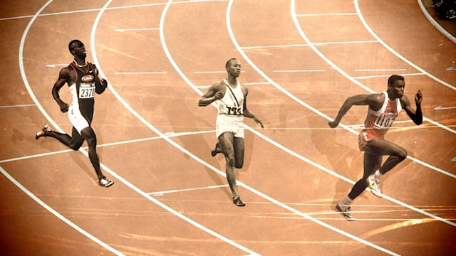 "Carl Lewis and Michael Johnson on the ""incomparable"" Jesse Owens"