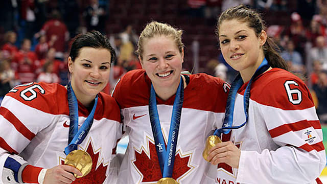 Women's hockey: a hit