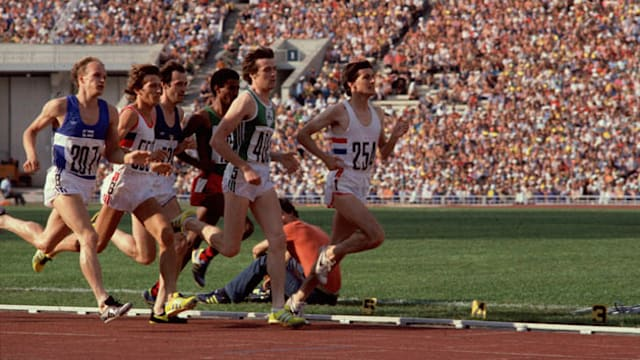 Coe bounces back in 1,500m to overhaul Ovett