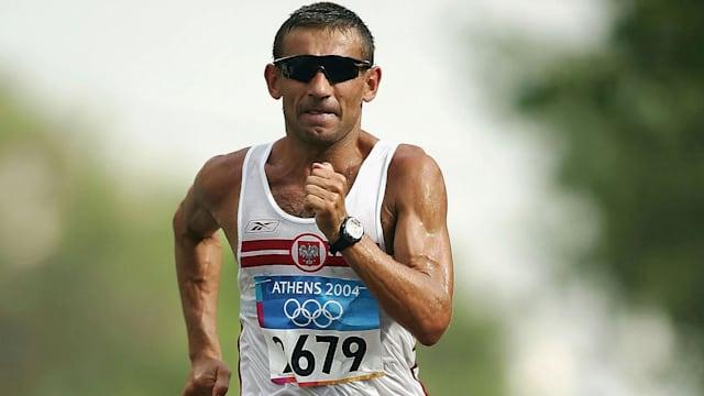 "Polish legend Korzeniowski hails ""noble"" discipline of race walking"