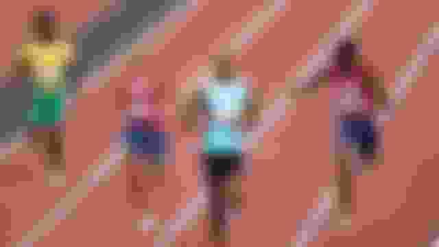 Bahamian Steven Gardiner wins the men's 400m gold medal