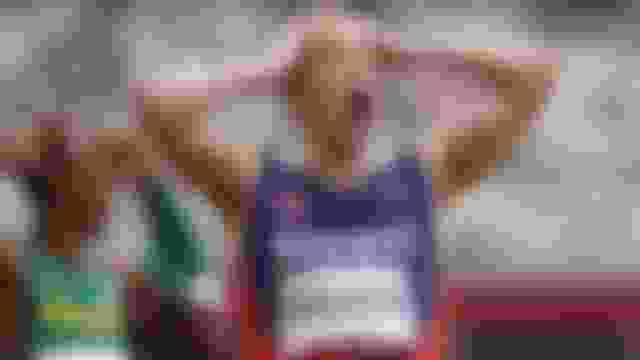 Norway's Karsten Warholm breaks world record to win gold in men's 400m hurdles