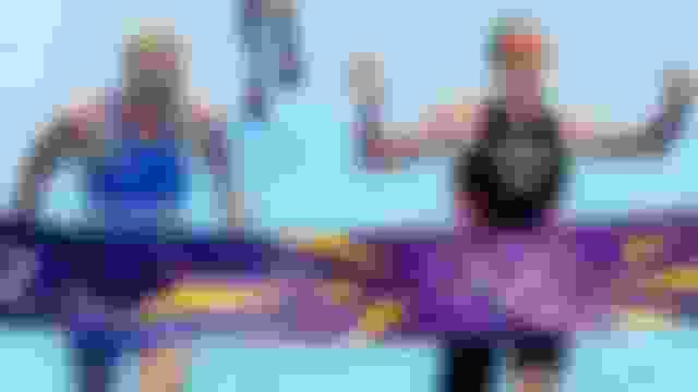 ロンドン2012トライアスロン女子、驚きの写真判定
