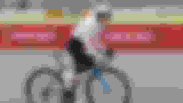 Refugee cyclist Masomah Ali Zada makes memorable Olympic debut
