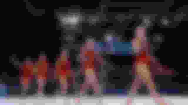 奥运艺术体操团体全能赛:保加利亚队摘金,中国队排名第四