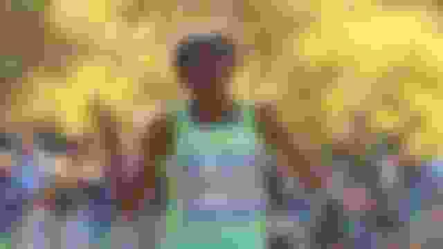 Sally Kipyego at the 2016 New York City Marathon