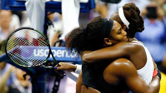 Serena Venus Hug