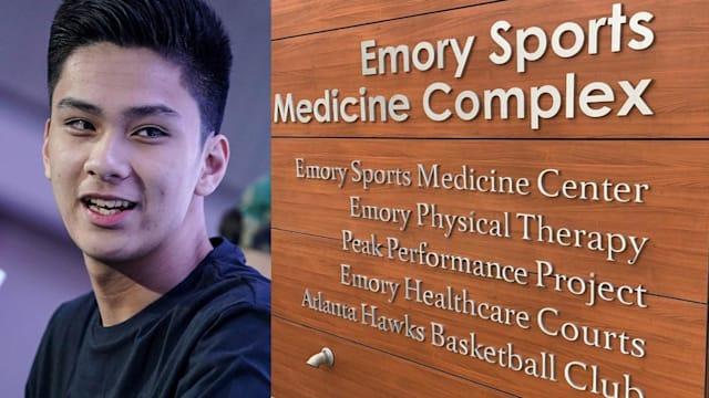 Kai Sotto at the Elite Emory Sports Complex in Atlanta, April 2019 - Photo Credit: Kai Sotto facebook