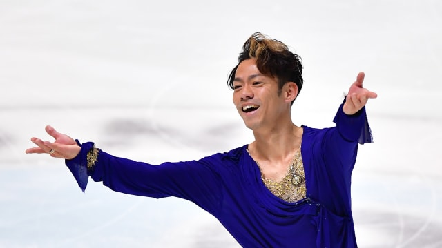 Crowd pleaser: Daisuke Takahashi is back at the Japanese nationals for the first time since 2013